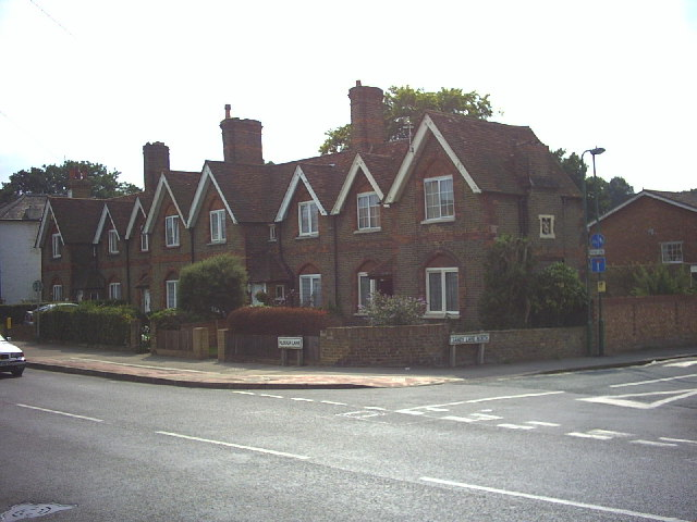 Row of cottages, Plough Lane, Beddington.