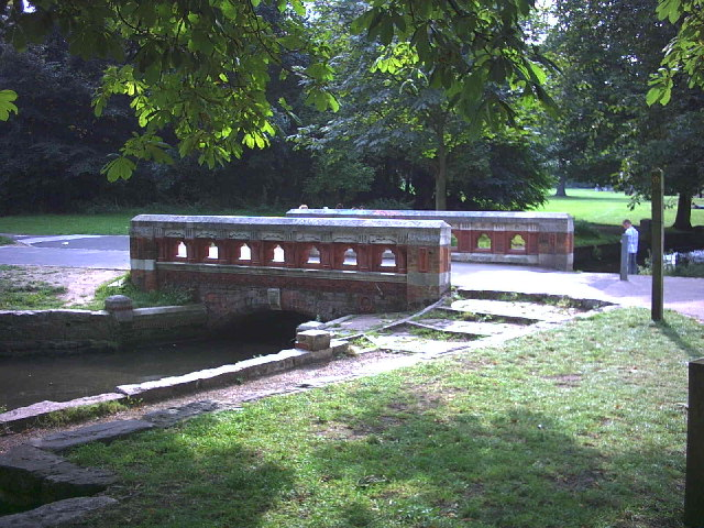Canon Bridge's Bridge, Beddington Park.