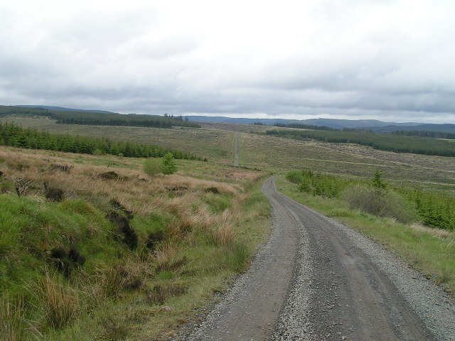 Pennine Way, Redesdale Forest