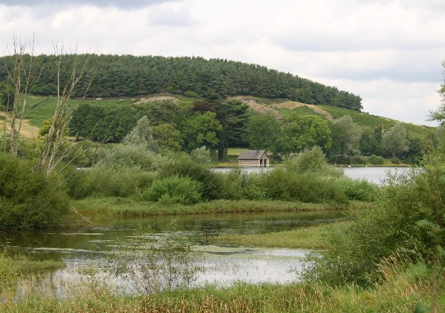 Boathouse and Cropston Reservoir