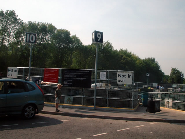 Bar End recycling centre, Winchester