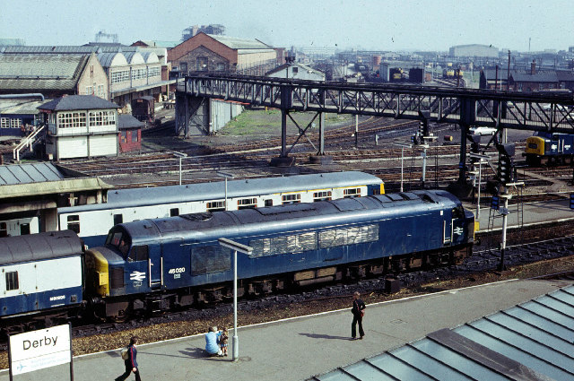 Derby Midland Station