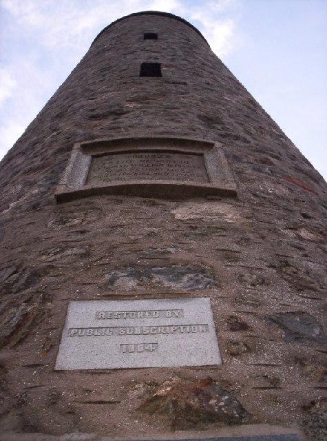 Scolty Tower / General Burnetts Monument
