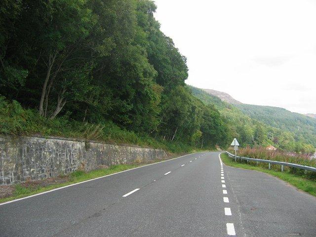 A85, Loch Earn
