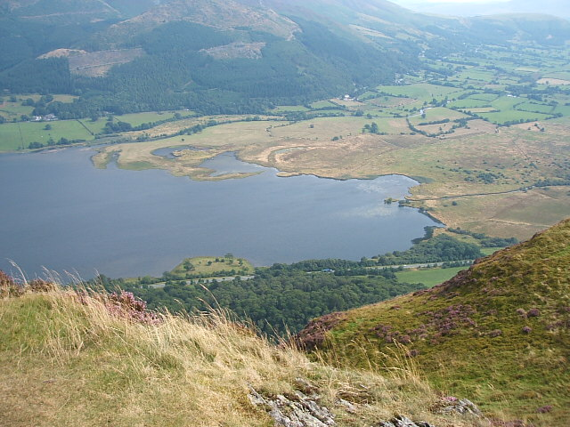 The south end of Lake Bassenthwaite