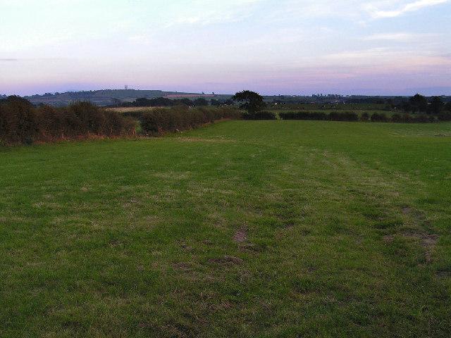 Open fields, Arkelby