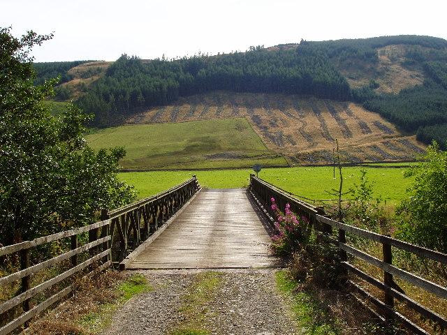 Bridge over the Ettrick Water