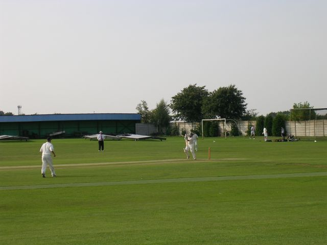 Cricket at the Steelworks