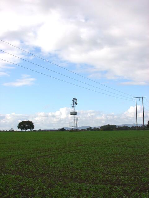 Windpump at Woodmancote