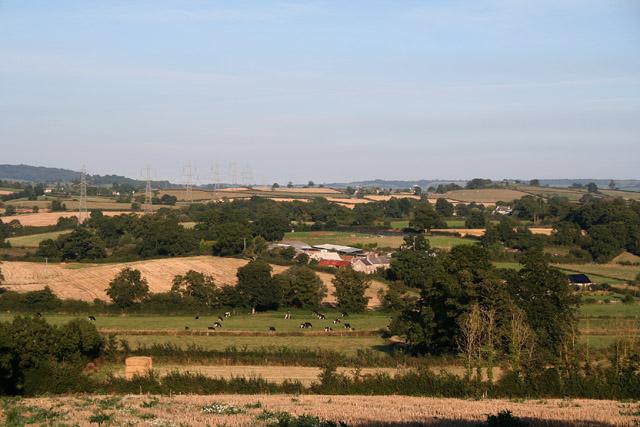 Payhembury: east to Milton Farm
