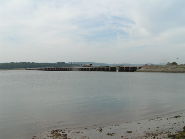Kent Viaduct from Arnside