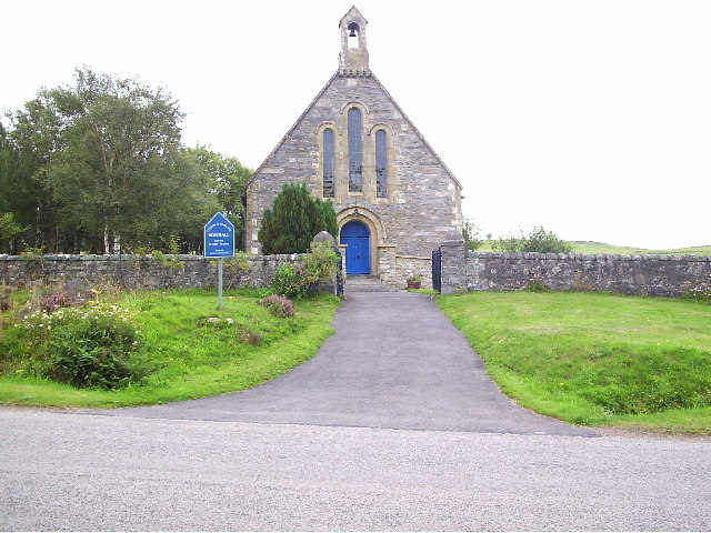 The Church of Scotland near Rosehall