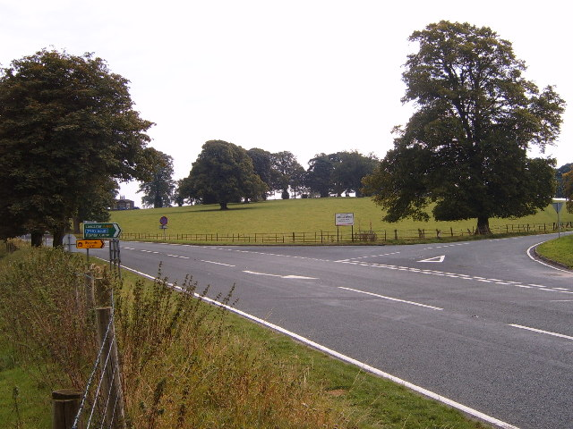 A65 junction