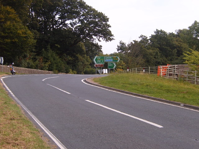 Junction on A687