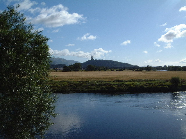 Wallace Monument from Kildean Market