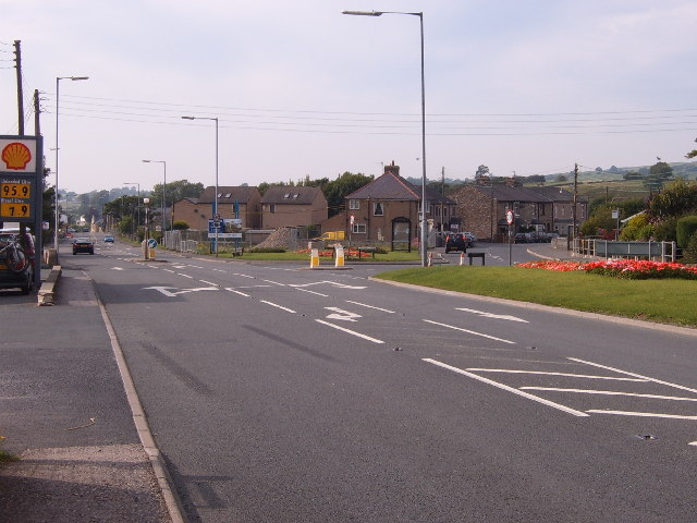 The A65 through Ingleton
