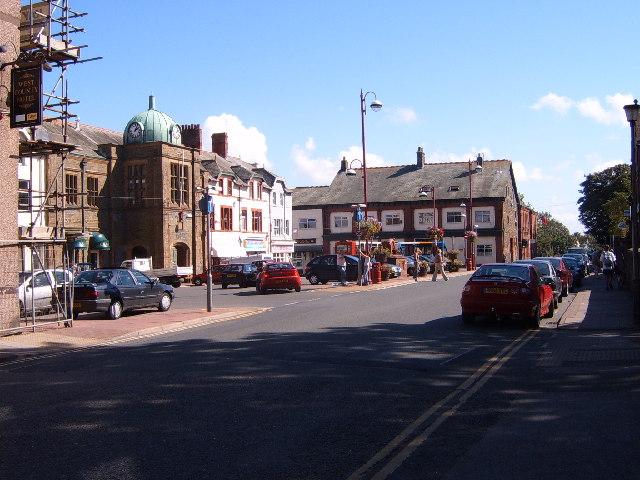 Millom Market Square