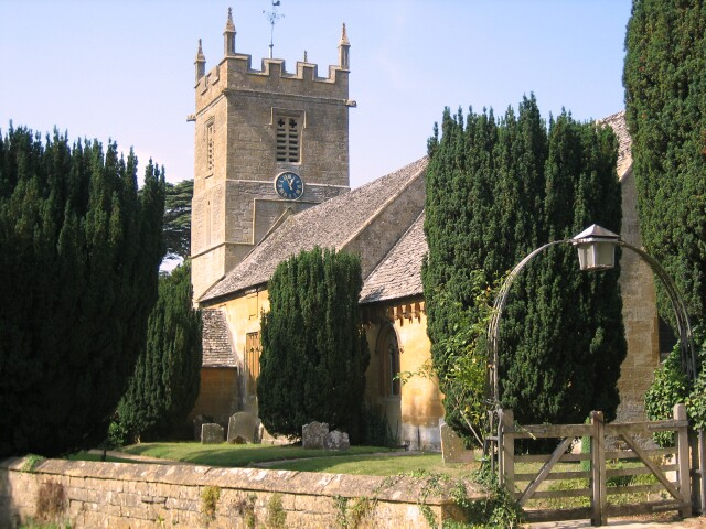 Stanway Church