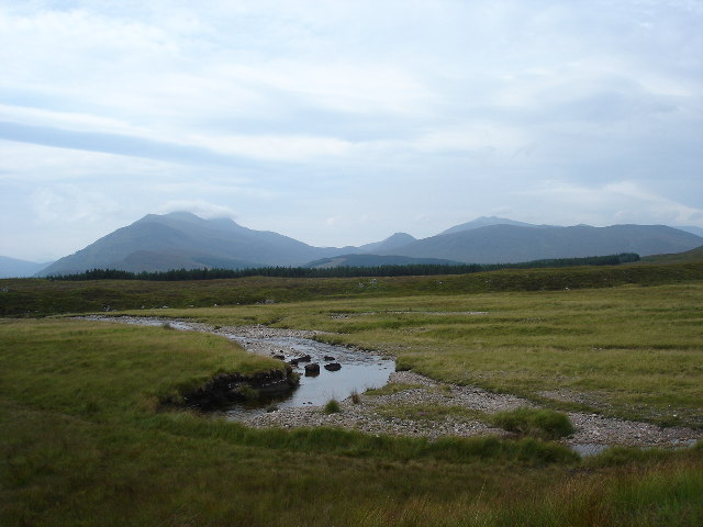 Marshland and floodplain near Roybridge
