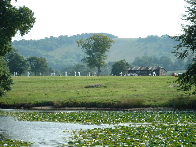Parham Lake & Cricket Pitch