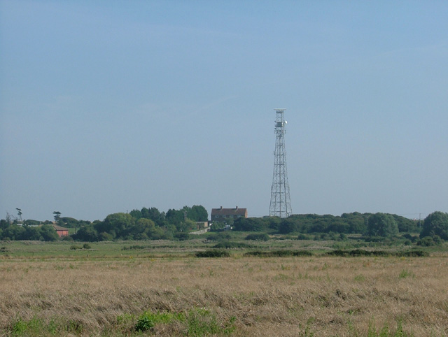 Communications Tower near Holland-on-Sea