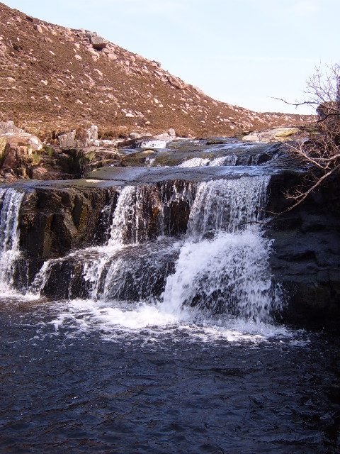 Waterfall on Allt na h-Eirigh
