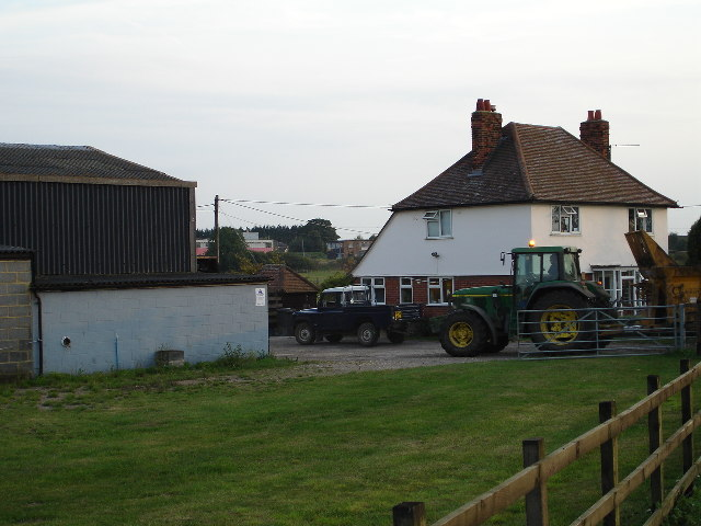 Halfway Farm, on the Baldock to Bygrave Road