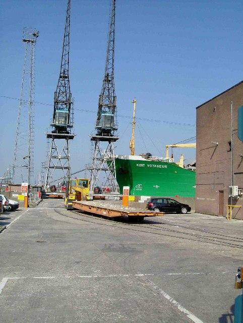 Kent Voyager in Dock