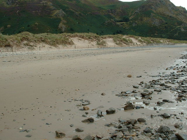 Morfa Beach & dunes