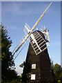 TL6749 : Windmill, Great Thurlow, Suffolk by mike