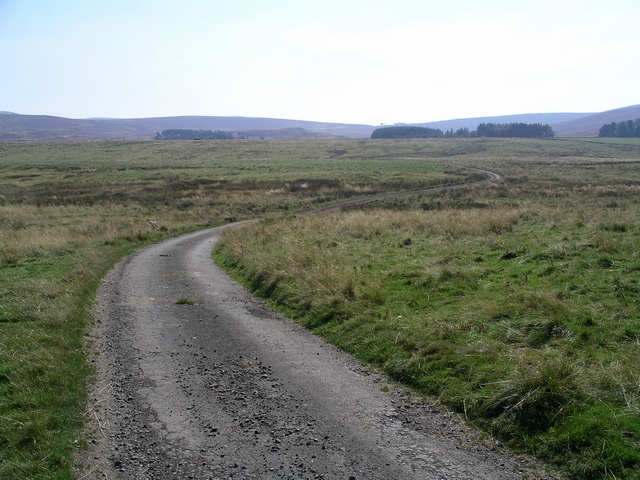 The road to Listonshiels