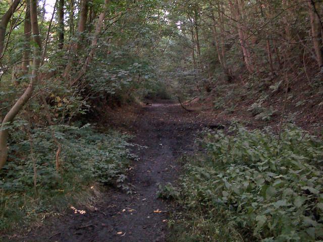 Former Ilkley-Otley railway line