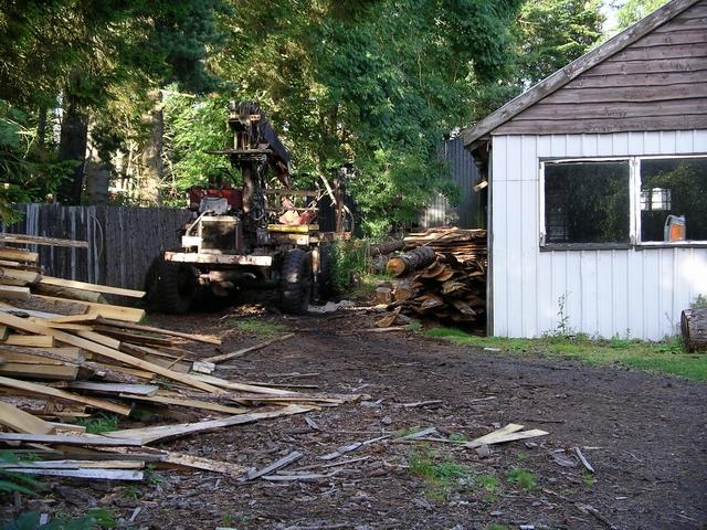 Sawmill, Nine Mile Burn