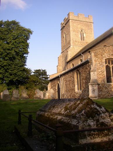 St Peter's Church, Little Thurlow, Great Bradley
