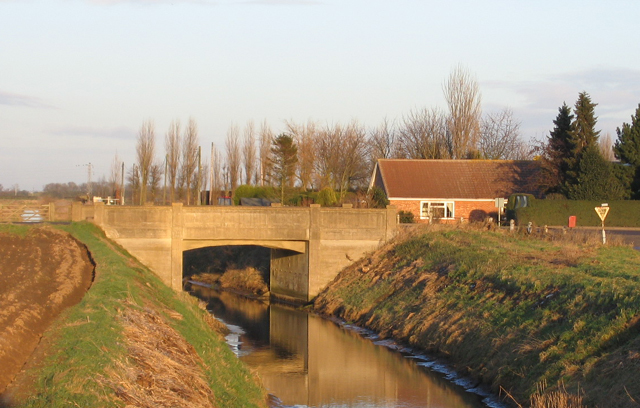 High Bridge and Hammond Beck, Swineshead, Lincs