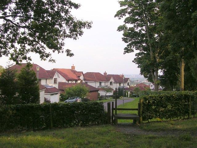 Mains housing estate
