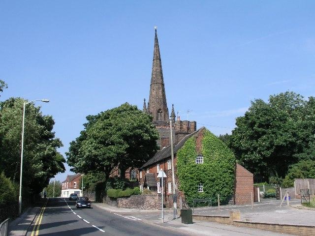 Wolstanton, Church of St Margaret
