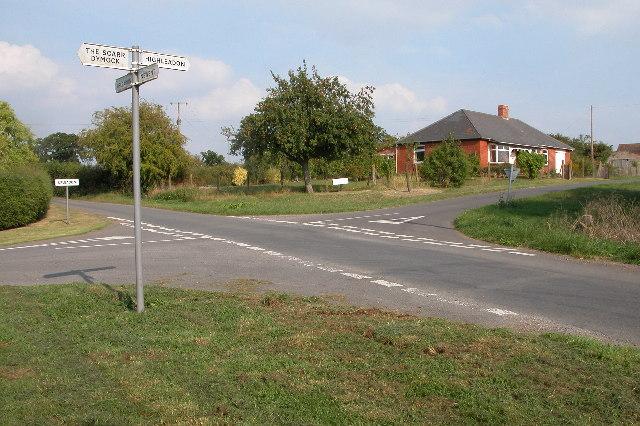 Crossroads near Upleadon