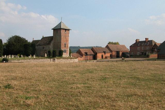Upleadon Church and Court