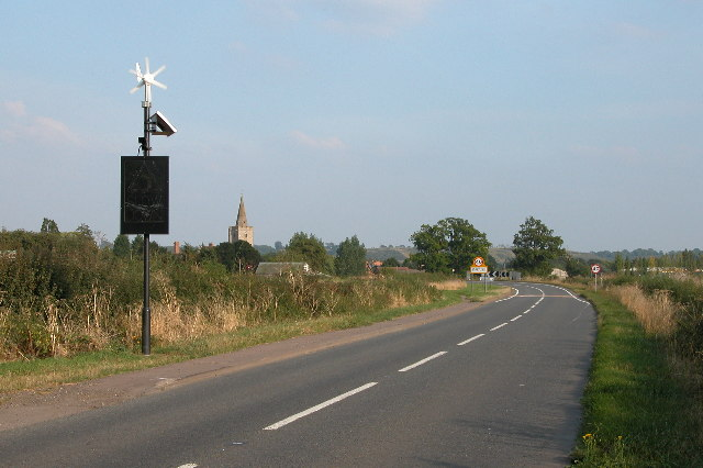 'Environmentally Friendly' Speed Warning