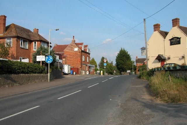 The centre of Staunton