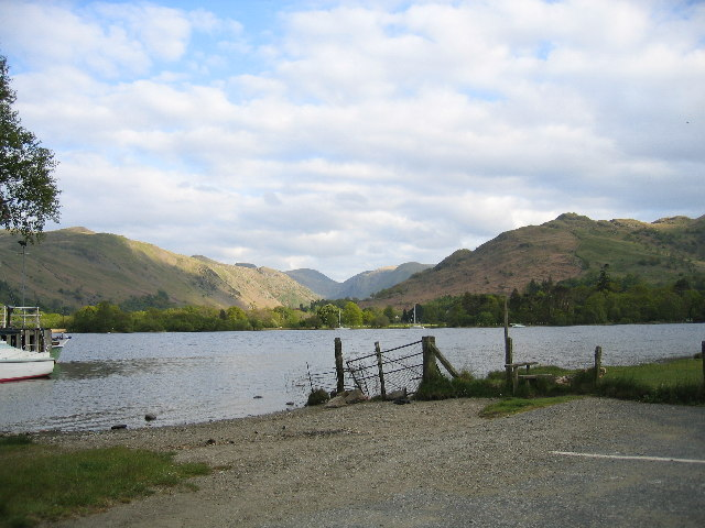 Ullswater and Patterdale from Glenridding Pier