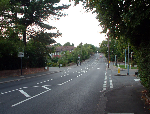 A237 junction with B2030, Woodcote, Coulsdon