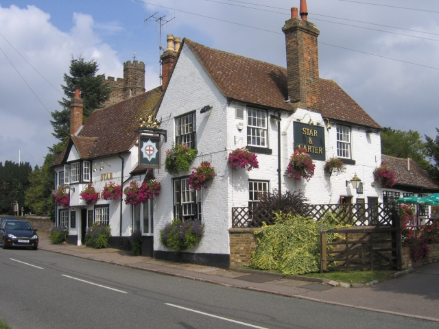 Star and Garter public house, Silsoe, Beds
