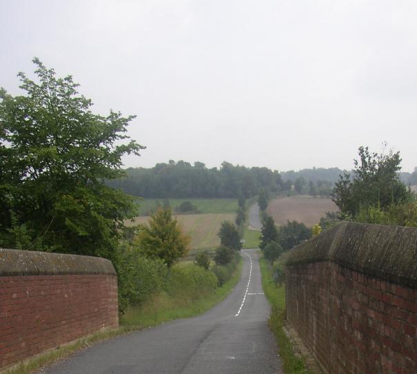 Cross Roads near Stetchworth, Cambridgeshire