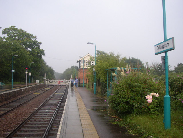Dullingham Station, Cambridgeshire