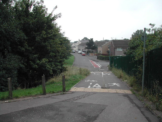 Cycle ways in Bulwell