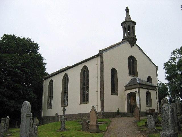 Monzie Parish Church, near Crieff, Perthshire