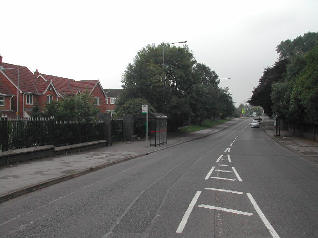 Bus Shelter on Watnall Road
