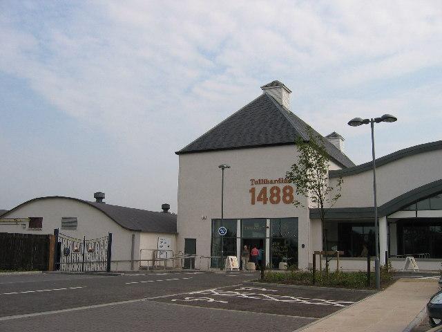 Tullibardine Distillery Visitor Centre. Blackford, Perthshire